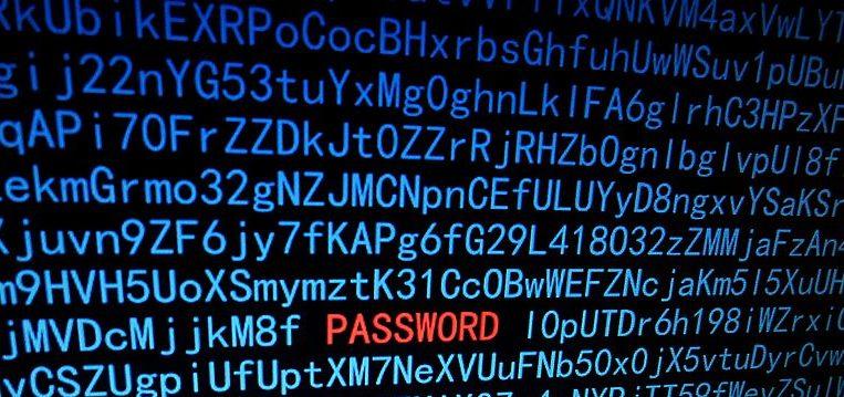 Hacking password illustration